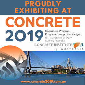 BCRC will be proudly exhibiting at Concrete 2019