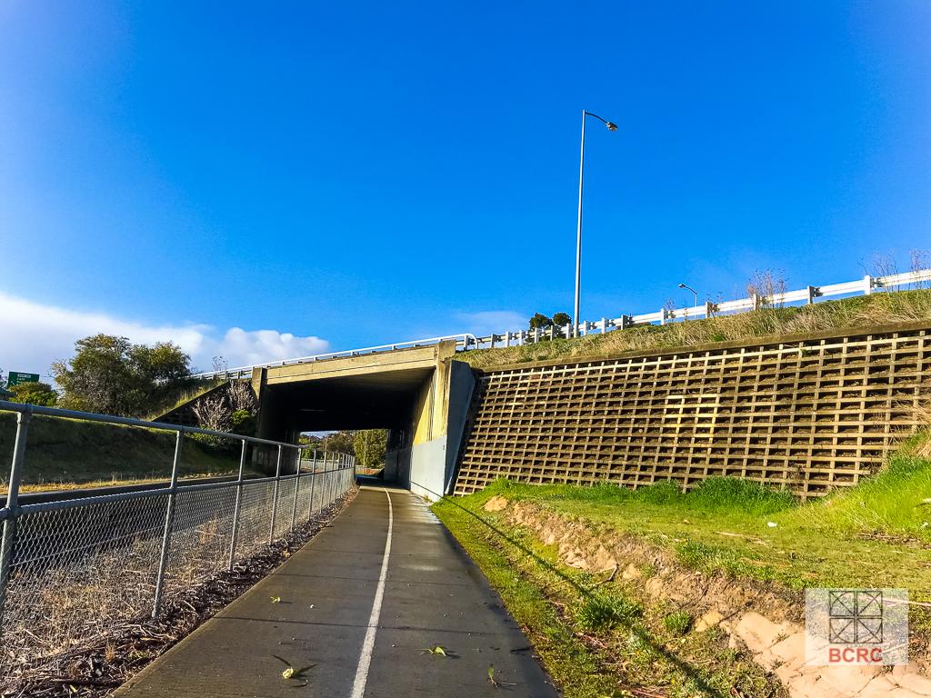 Berriedale rail underpass bridge BCRC Tasmania Bridges Project